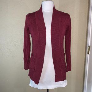 My BAJEE by Be Cool Cardigan Sweater Red Small